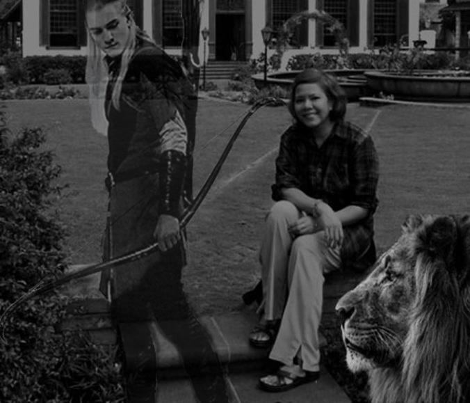 Me, Legolas and the Lion