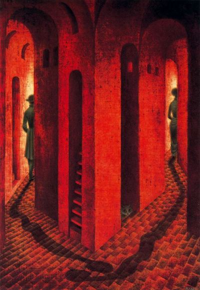 La Despedida by Remedios Varo Uranga